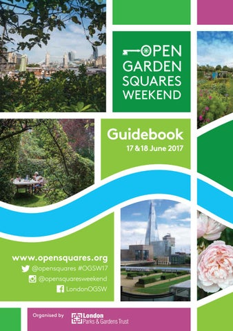 Ogsw 2017 Guidebook By London Parks And Gardens Trust Issuu