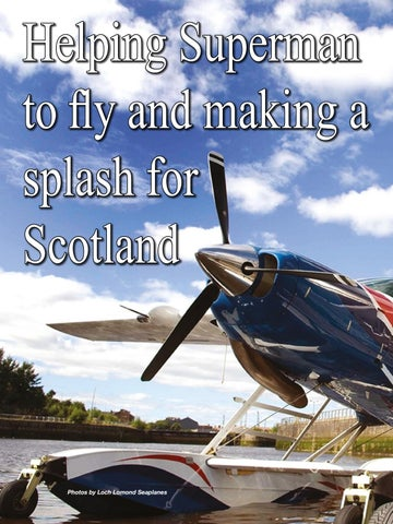 Page 18 of Helping Superman to fly and making a splash for Scotland