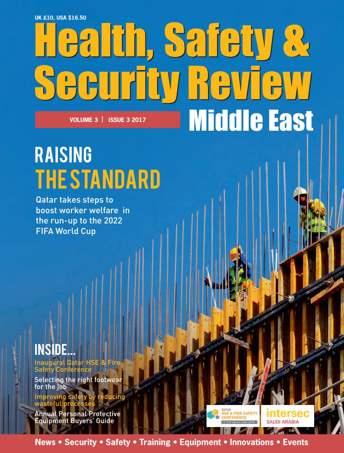Health Safety Amp Security Review Issue 3 2017 By Alain