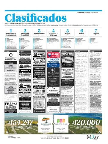 2dbf6f58755 05 de junio de 2017 clasificados el tribuno by El Tribuno - issuu