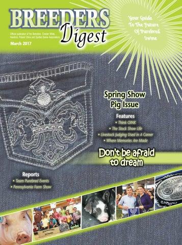 cdde5beadef Breeders Digest    2017 March by Encore Visions - issuu