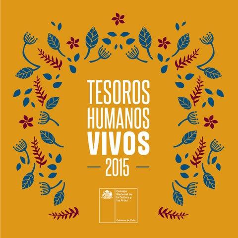 Tesoros Humanos Vivos 2015 by Ministerio de las Culturas 04eafa10552