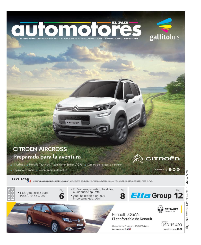 3f5e06f38c8 Gallito Automotores 4 de Junio 2017 by Marketing HDL - issuu