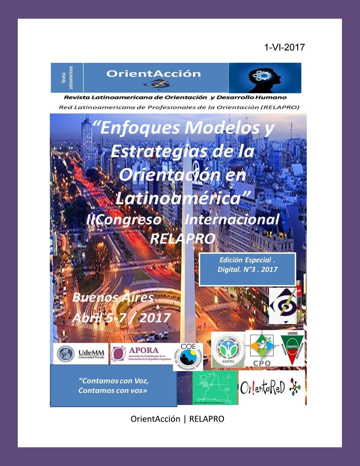 Revista Latinoamericana de Orientación y Desarrollo Humano n°3 2017 ...