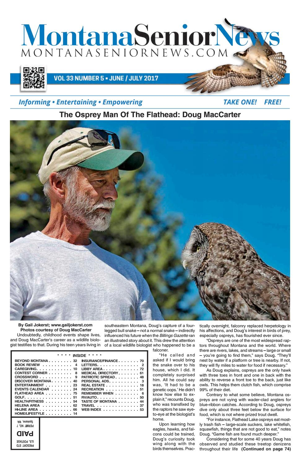 MSN June July 2017 by Montana Senior News issuu