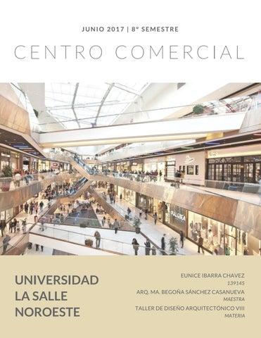 Centro comercial by eunice ibarra issuu for Programas de diseno de espacios