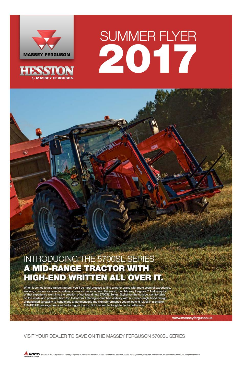Agco massey flyer by The Western Producer - issuu