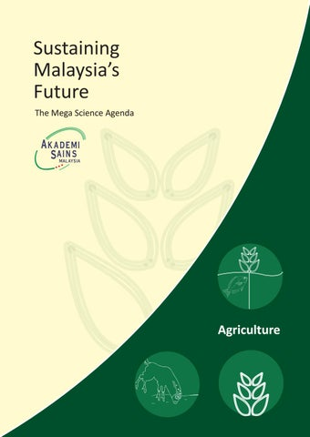 The Mega Science Agenda - Agriculture by Academy of Sciences
