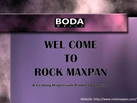 Magnesium Oxide Board Product : Rockmax magnesium oxide board by donnie yen issuu