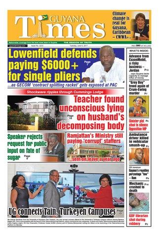 706c905a Guyana times 6 june 2017 by Gytimes - issuu