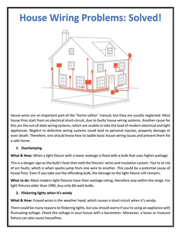 troubleshooting house wiring problems house wiring problems house wiring problems: solved! by ultracab - issuu