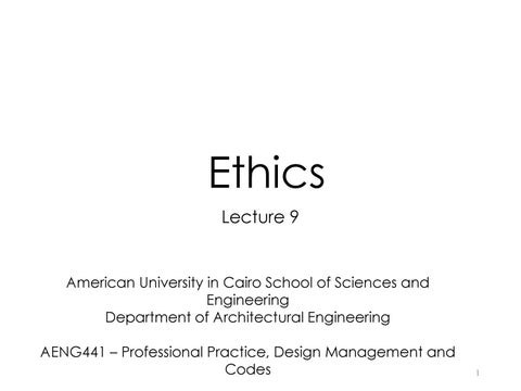 9 ethics ym new by Yasser Osman Moharam Mahgoub - issuu