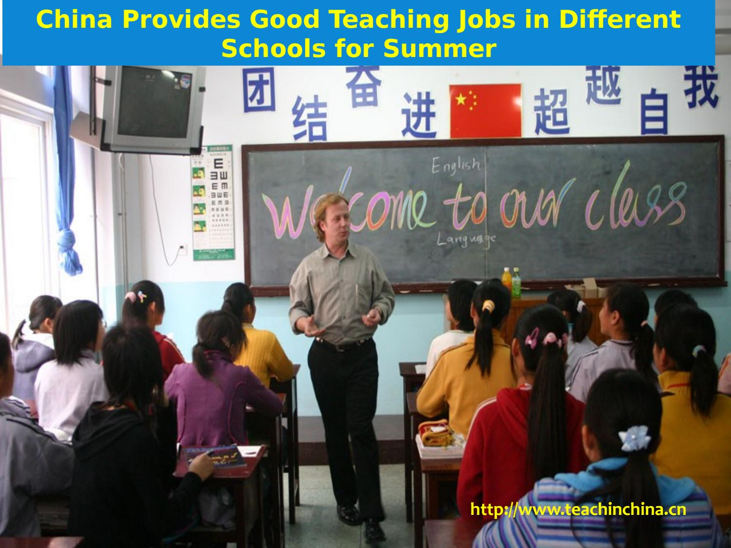 Teaching Jobs In China Learning And Development