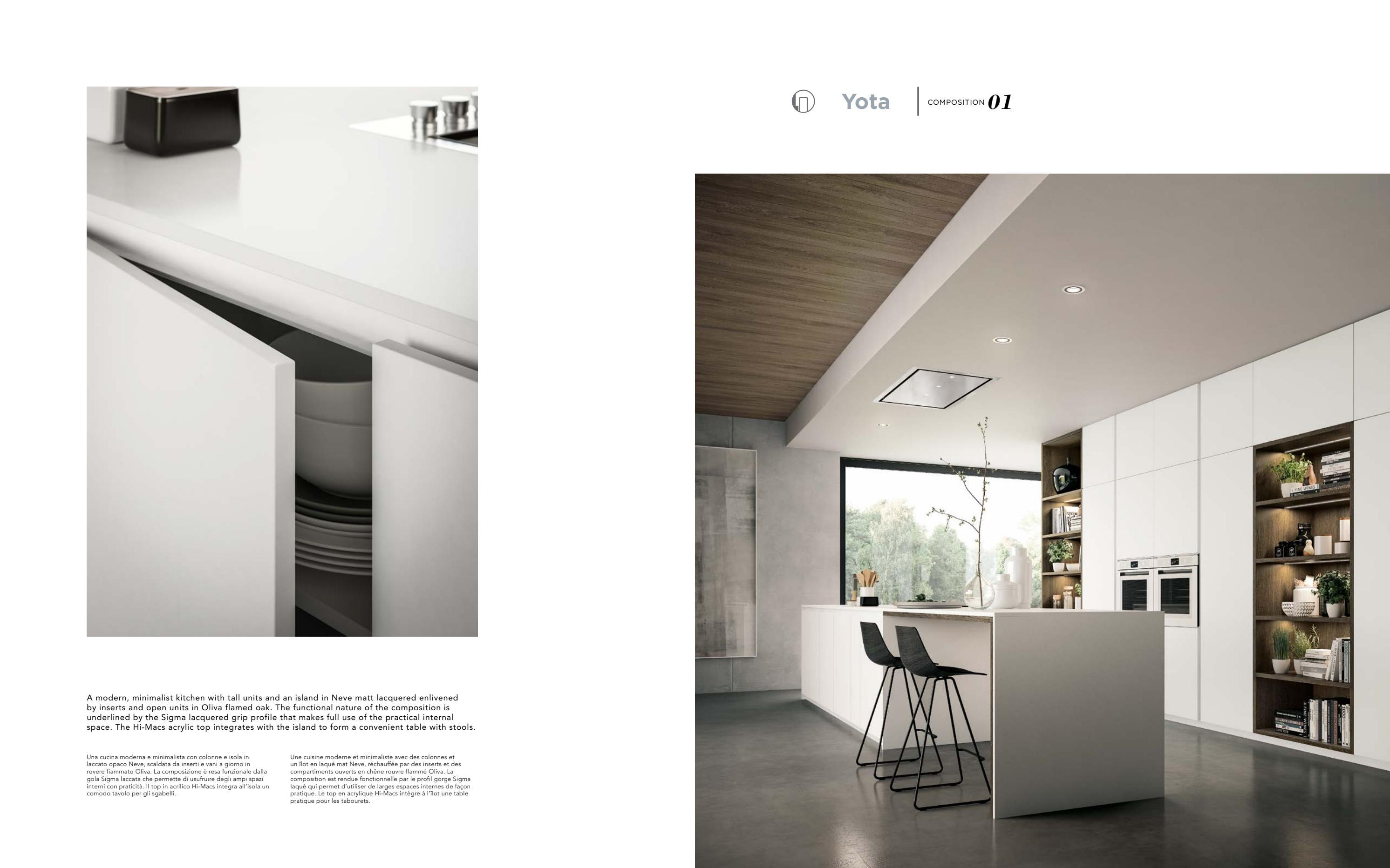Cucina Open Space Moderna catalogue armony 2017 by sitti - issuu