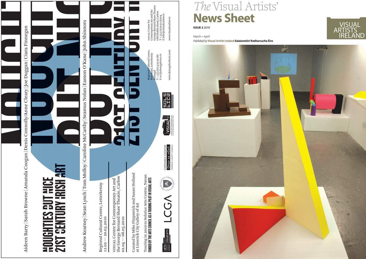 Visual Artists' News Sheet - 2010 March April by