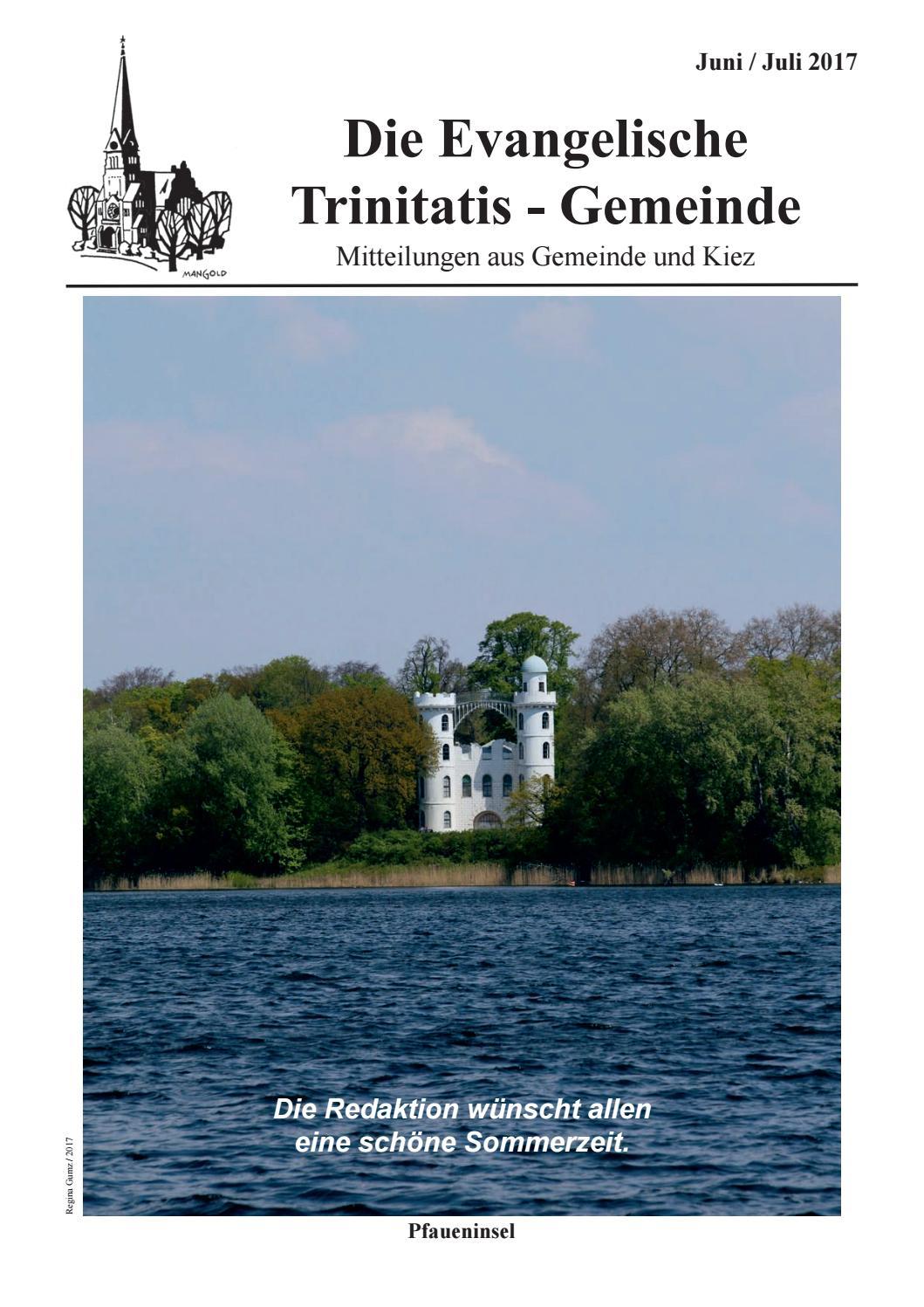 Gemeindezeitung 25 red by Ev. Trinitatis Kirchengemeinde Berlin ...