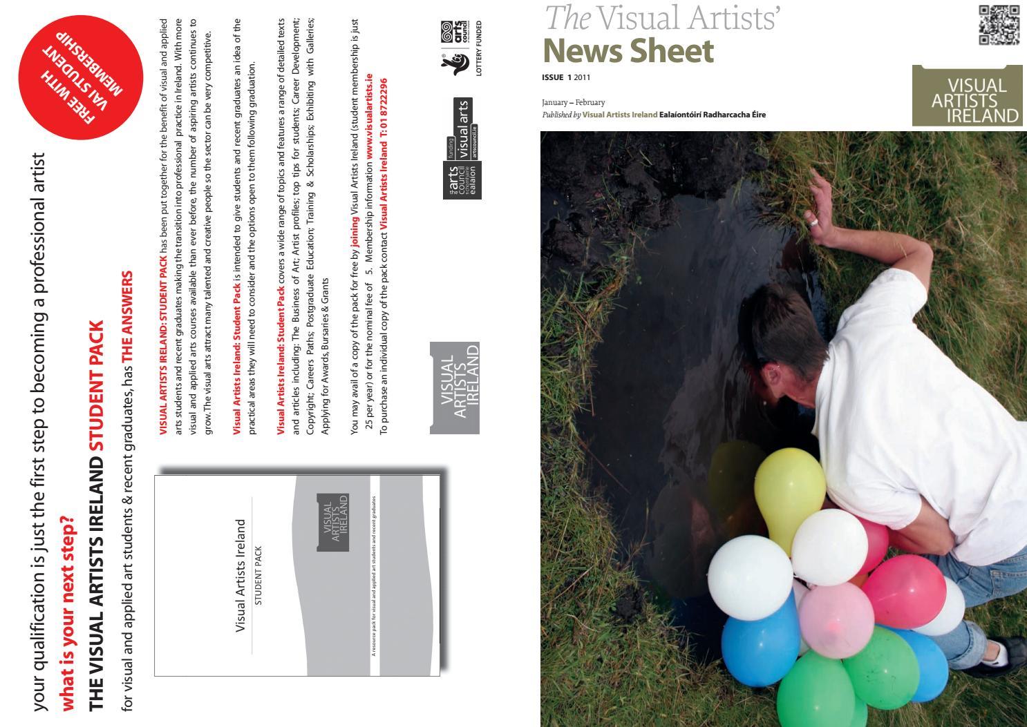 043c12f5be60 Visual Artists  News Sheet - 2011 January February by VisualArtistsIreland  - issuu