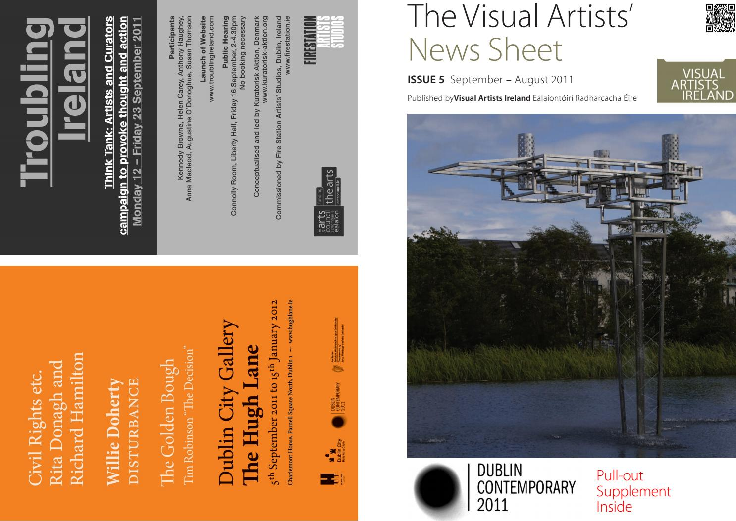 Visual Artists News Sheet 2011 September October By Ellies Intercom Wiring Diagram Visualartistsireland Issuu
