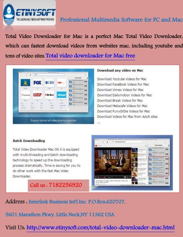 Total video downloader for mac free by EtinySoft - issuu