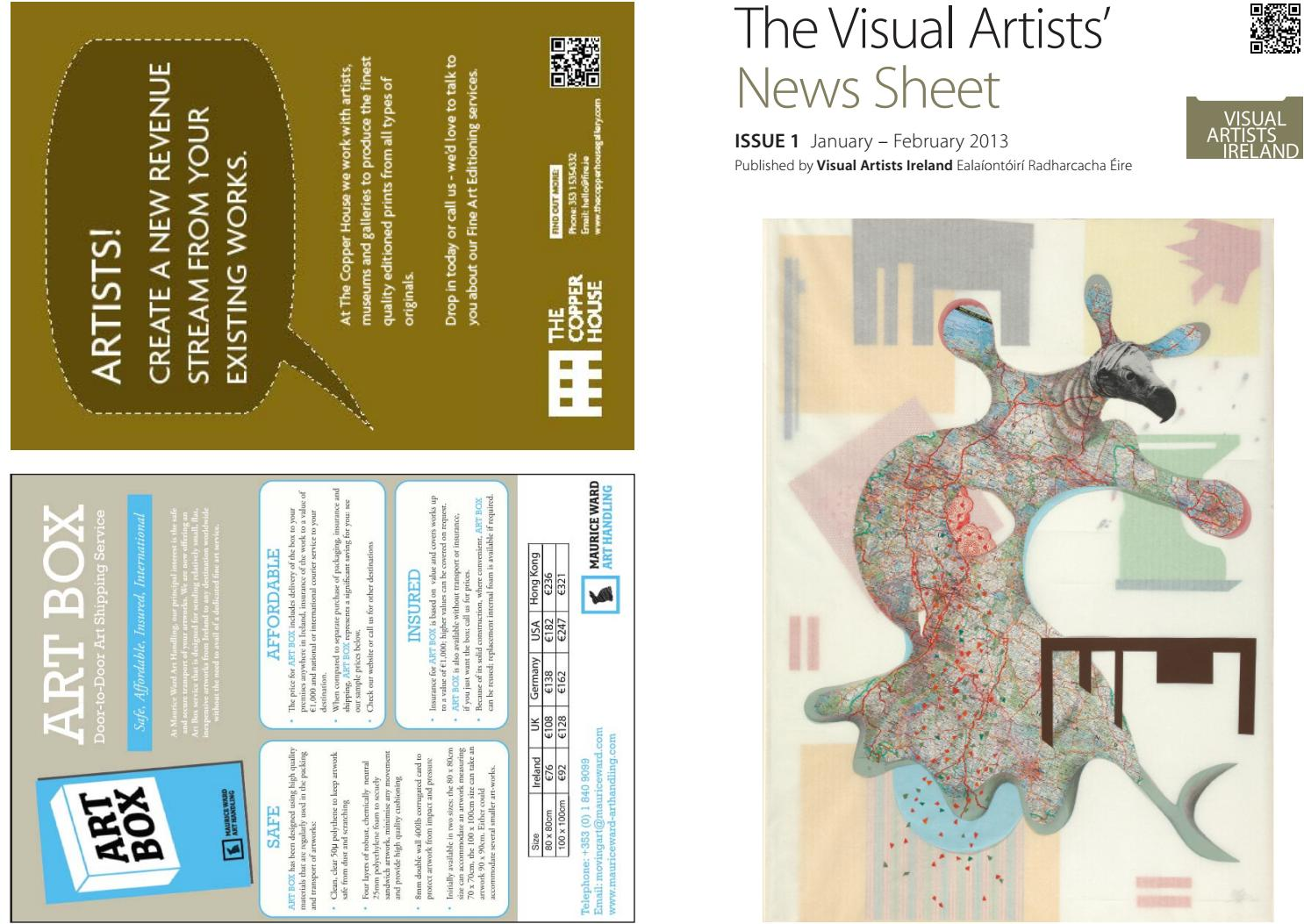 313e8bd2f6b Visual Artists  News Sheet - 2013 January February by VisualArtistsIreland  - issuu