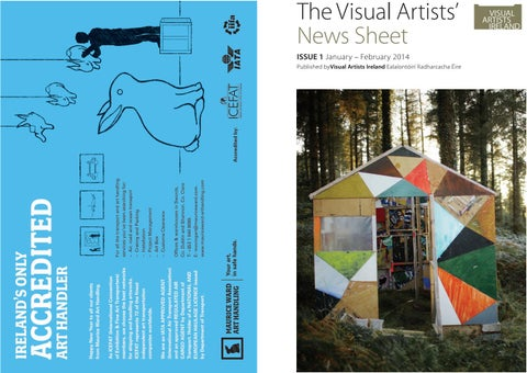 Visual Artists News Sheet 2014 January February By
