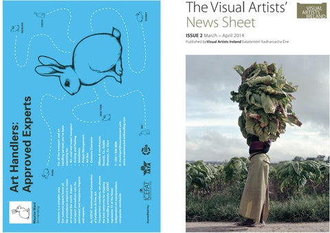 Visual Artists News Sheet 2014 March April By