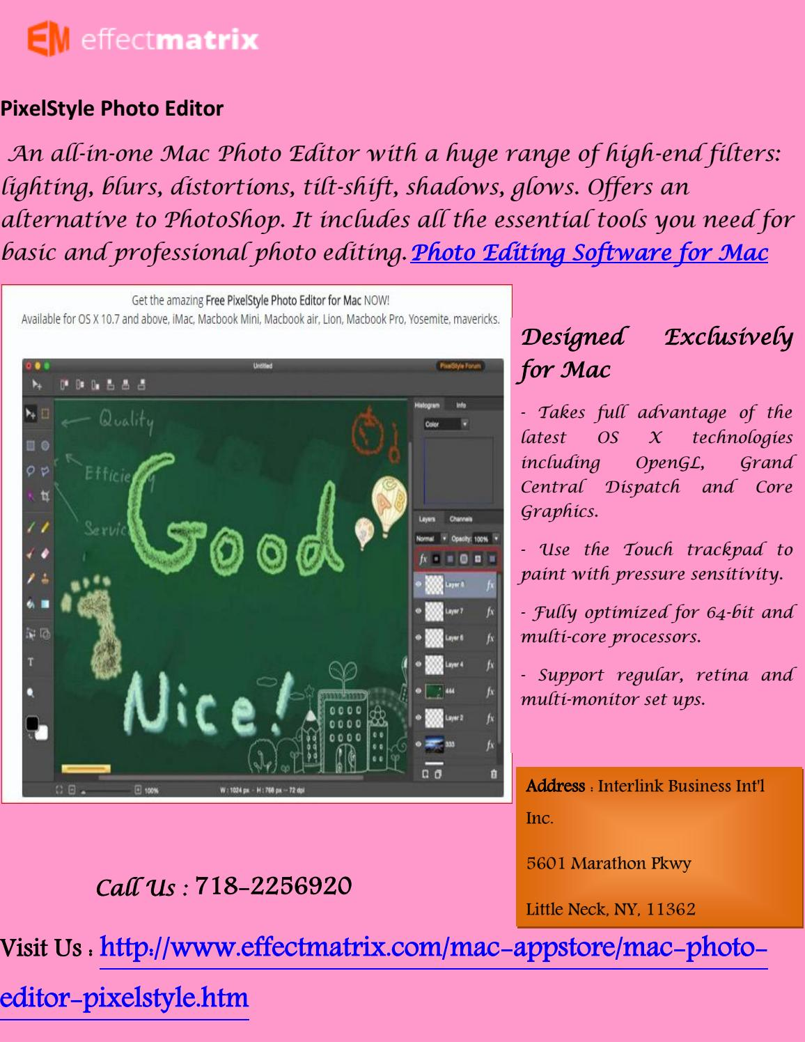 Photo editing software for mac by leey kate - issuu
