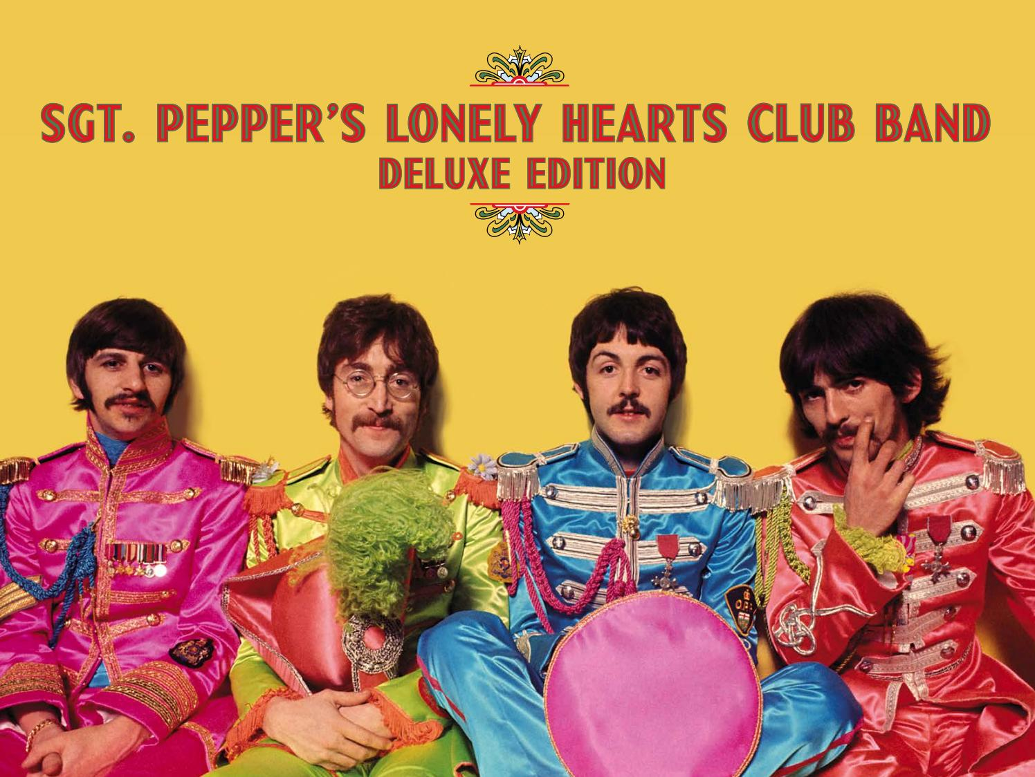 Digital booklet Sgt Pepper's Lonely Hearts Club Band by Lucho Cohaila  Guzman - issuu