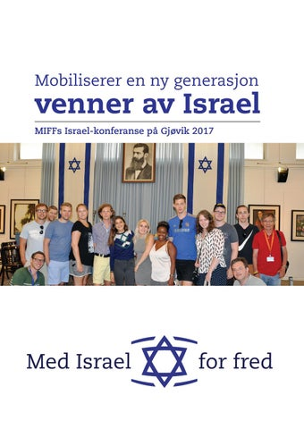 4c09f480 MIFFs årsrapport 2017 by Med Israel for fred (MIFF) - issuu