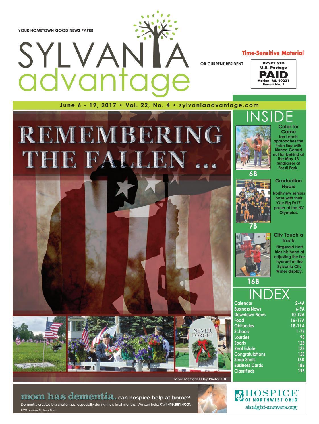 Sylvania AdVantage FIRST JUNE 2017 Sylvania AdVantage