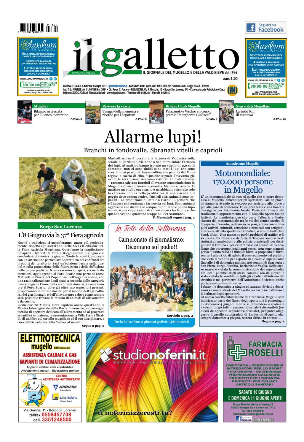 1307 by Il Galletto Giornale - issuu 2ff6f67cf798