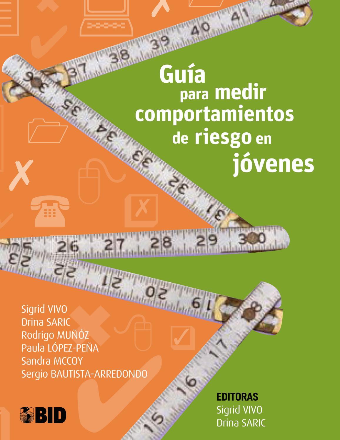 Guía para medir comportamientos de riesgo en jóvenes by Ayuda ...