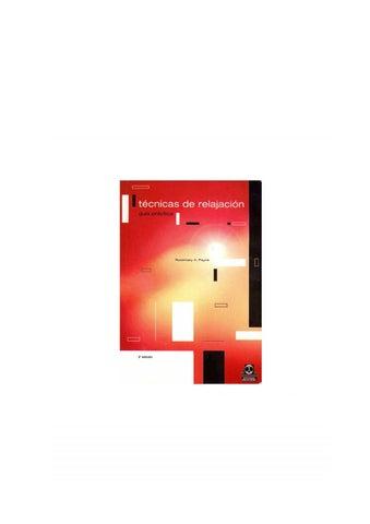 Guía práctica de técnicas de relajación by Ayuda Psicológica en ... 70e36c4124c8