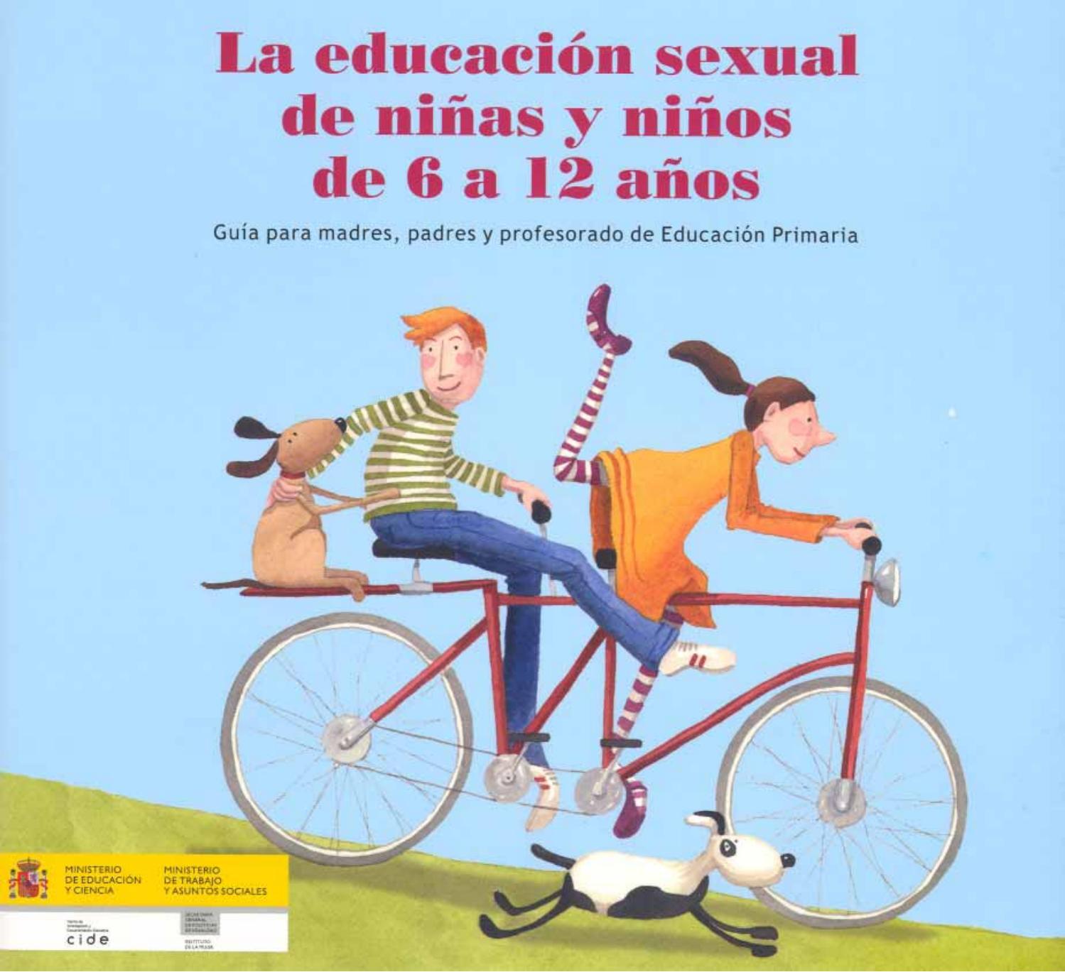 Niños Haciendo Porno En El Instituto la educación sexual de niños y niñas de 6 a 12 años, guía