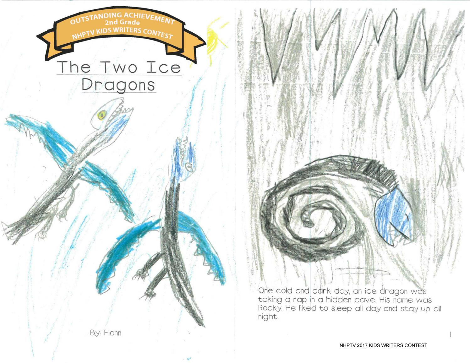 The Two Ice Dragons by Montana West - issuu