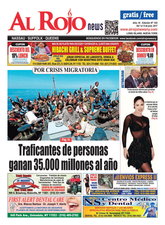 Al Rojo News año III edición 102 by Jose Rivas - issuu