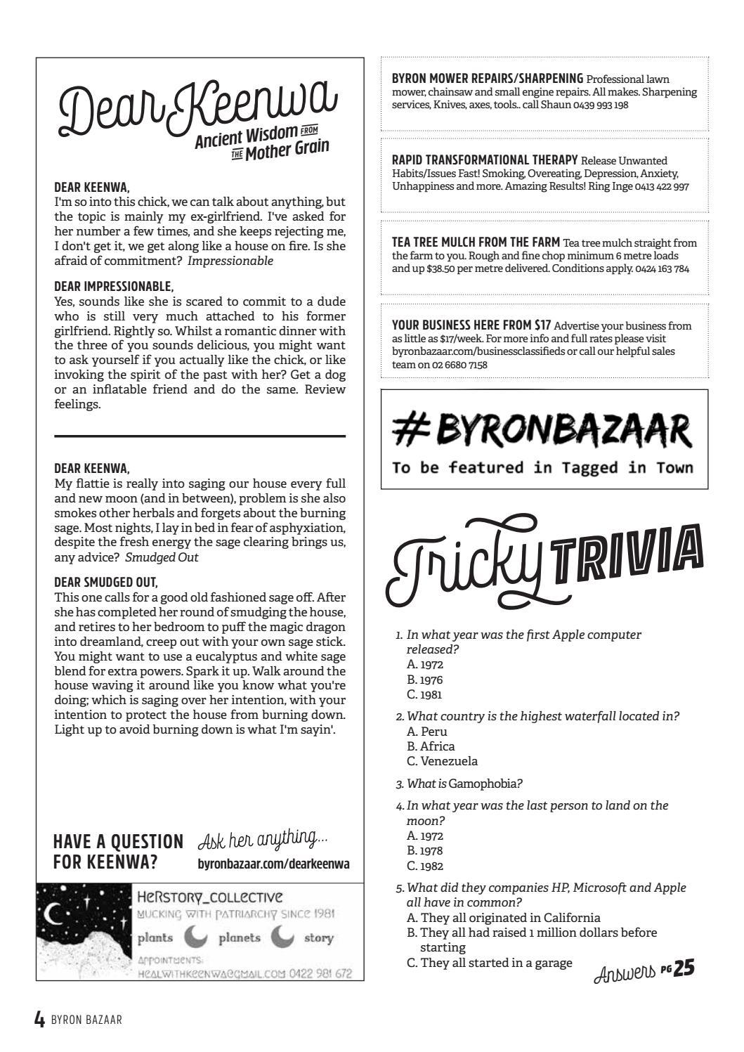 Byron Bazaar Issue 139 issuu