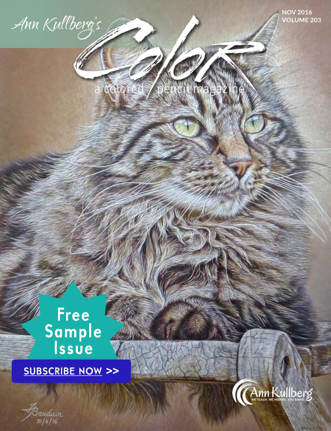 Color Magazine Free Sample Issue