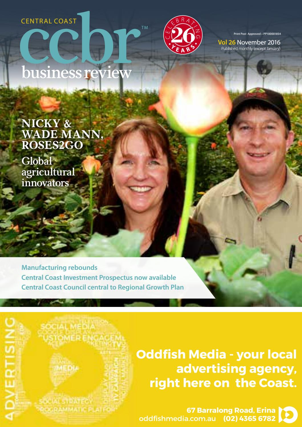 CCBR November 2016 by Central Coast Business Review - issuu
