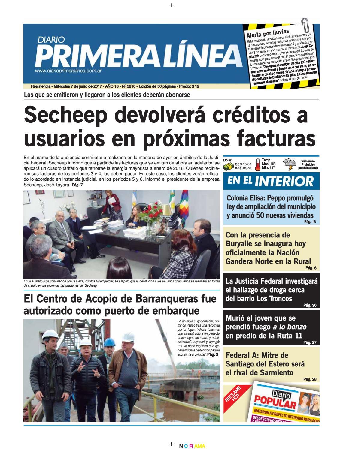 Primera L Nea 5260 20 06 17 By Diario Primera Linea Issuu # Muebles Digiano