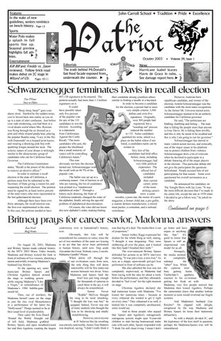 b33ed3e22 The Patriot October 2003, Issue 1, Vol 39 by The Patriot - issuu