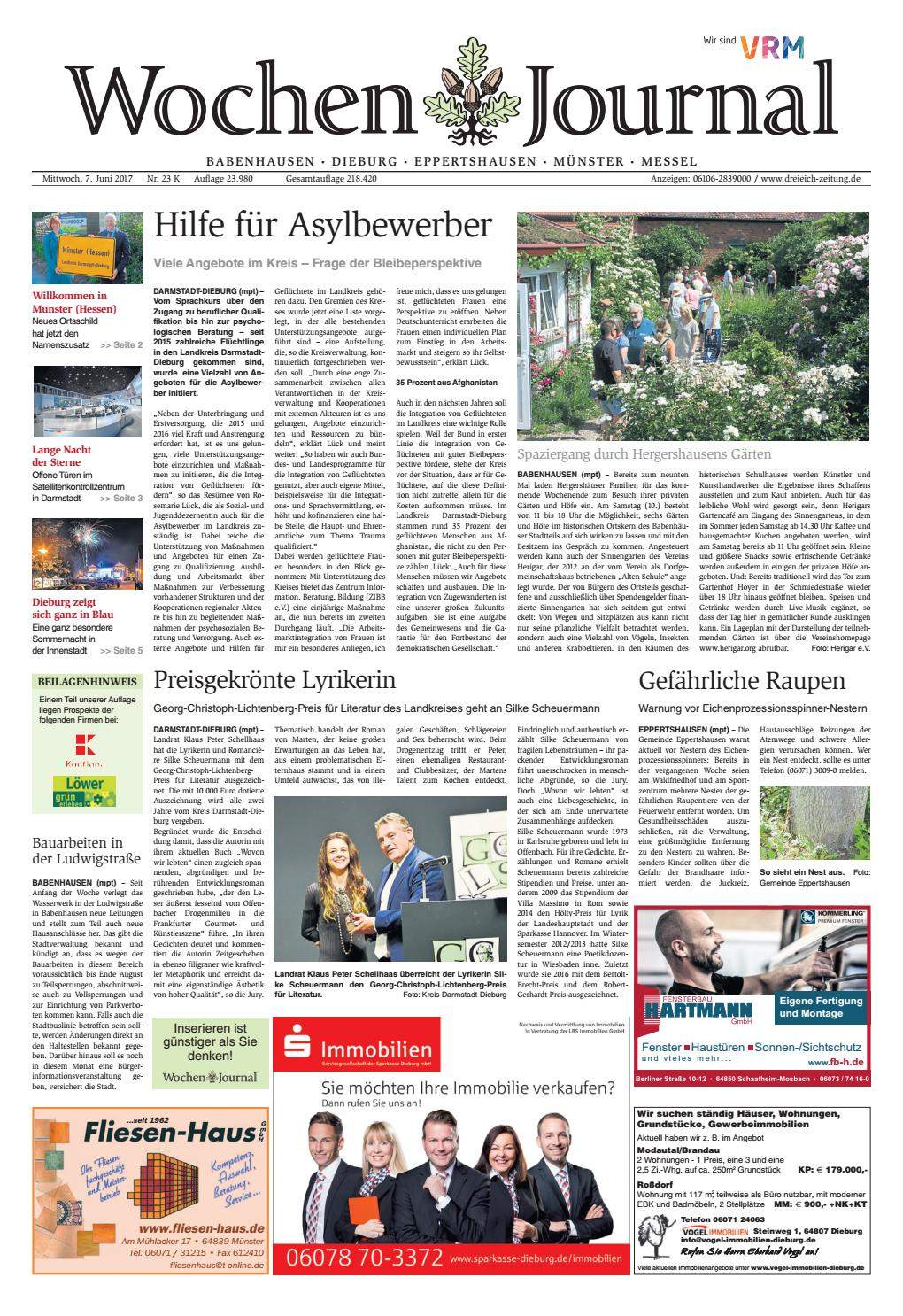 Wj 023 By Dreieich Zeitung Offenbach Journal Issuu