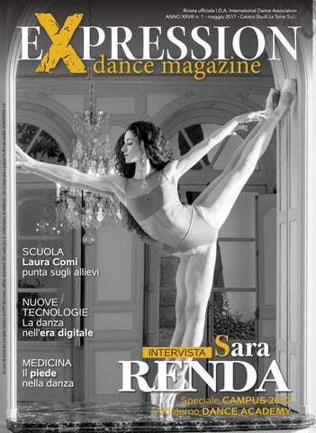 861675dff17d Expression dance magazine maggio 2017 by IDA International Dance ...