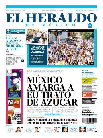 El Heraldo de México 07 de Junio 2017 by El Heraldo de México - issuu 7b1e1c7b1673