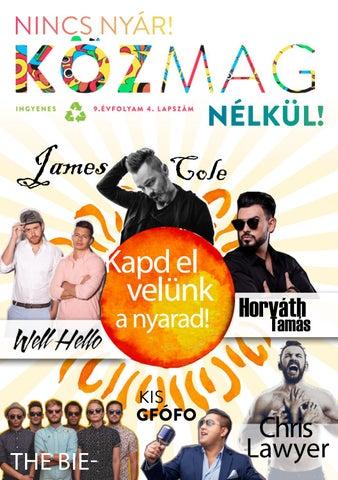 """Cover of """"KÖZMAG Nyár Nyíregyháza"""""""