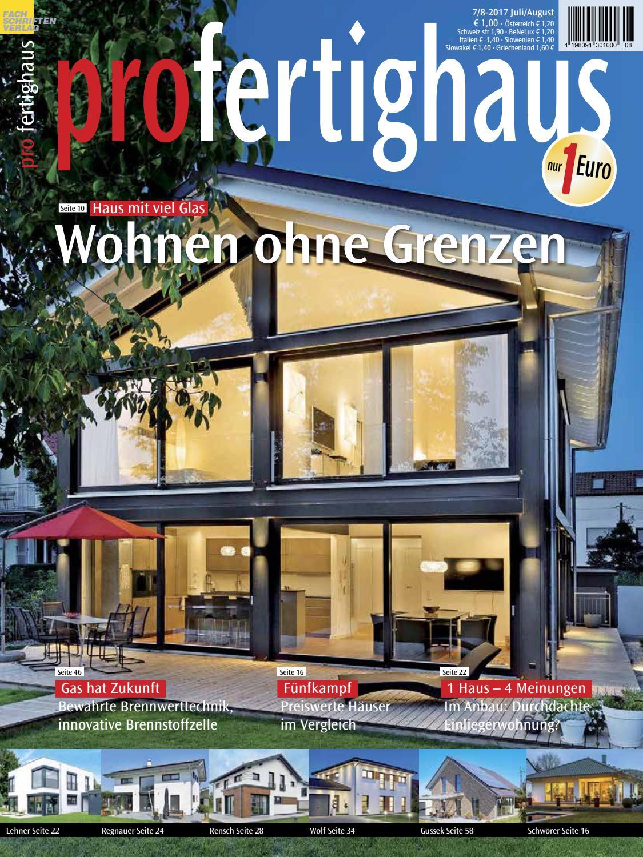 pro fertighaus 7/8-2017 by Fachschriften Verlag - issuu