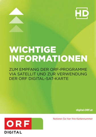 Orf Kartennummer.Orf Digital Betriebsanleitung By The Lounge Interactive