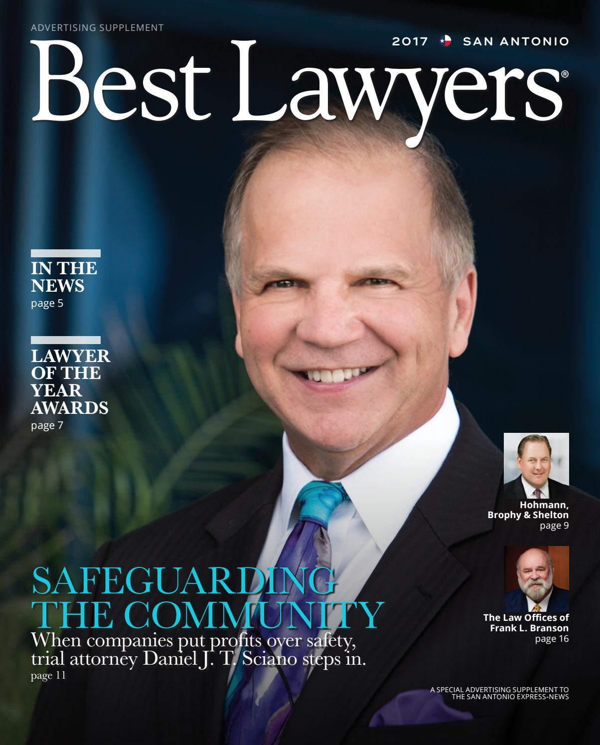 Best Lawyers In Texas 2017 Austin Amp San Antonio Edition