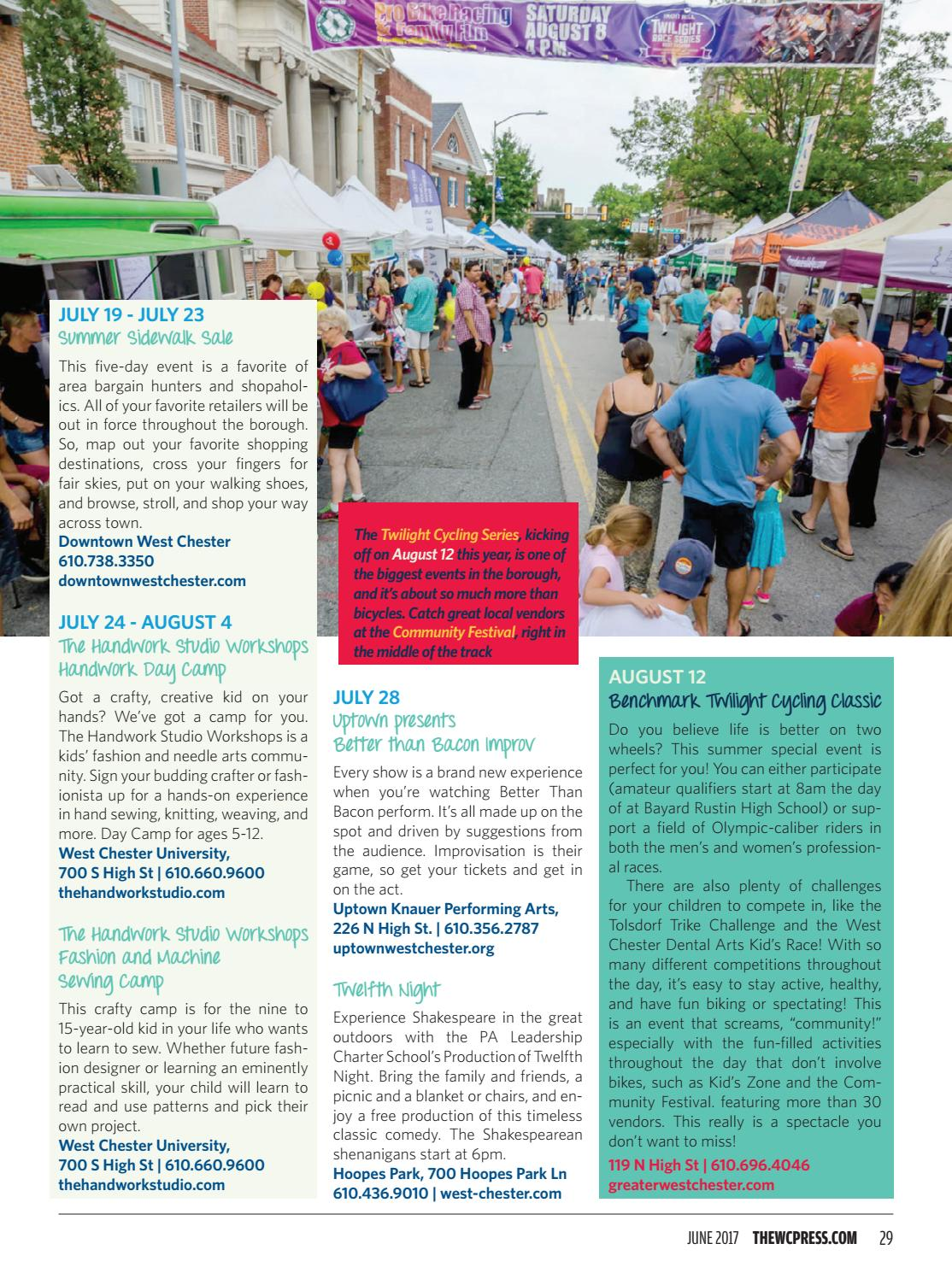 81d28343d0e5 The WC Press Summer Fun Guide - June 2017 by The WC Press - issuu