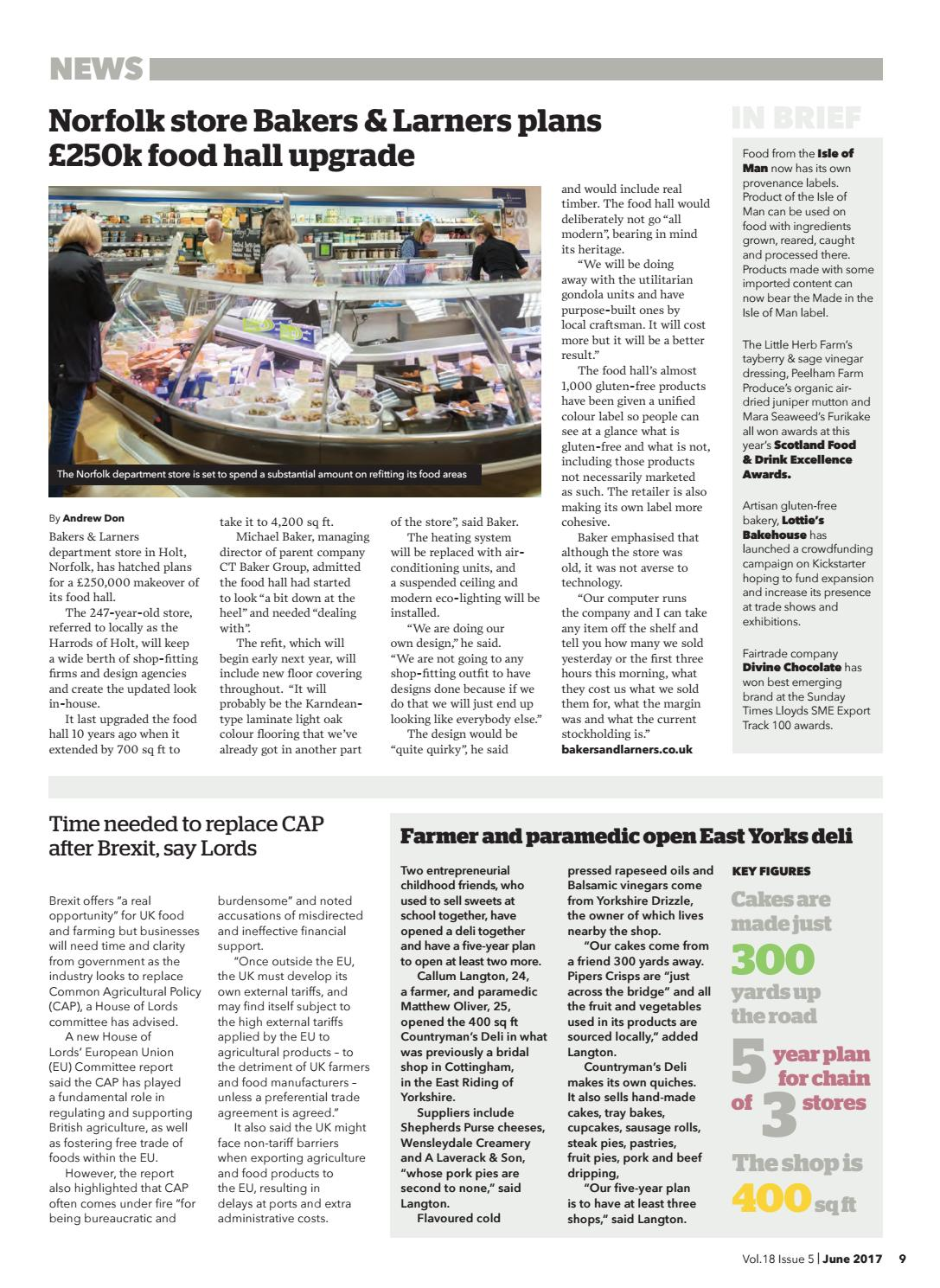 FFD June 2017 by Guild of Fine Food - issuu